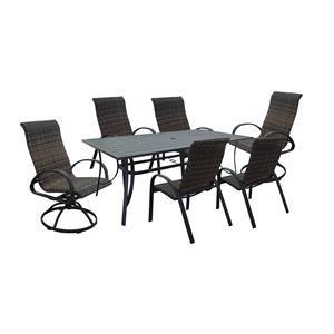 Table, Chair, Swivel Chair