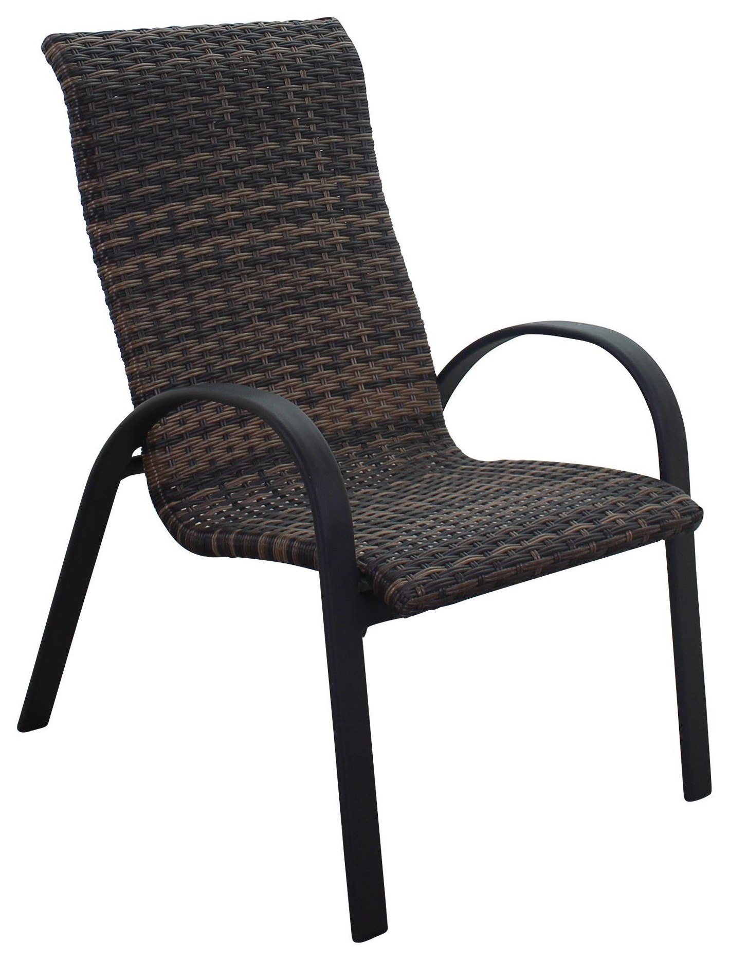 Portside Woven Dining Chair by Kingston Casual at Johnny Janosik
