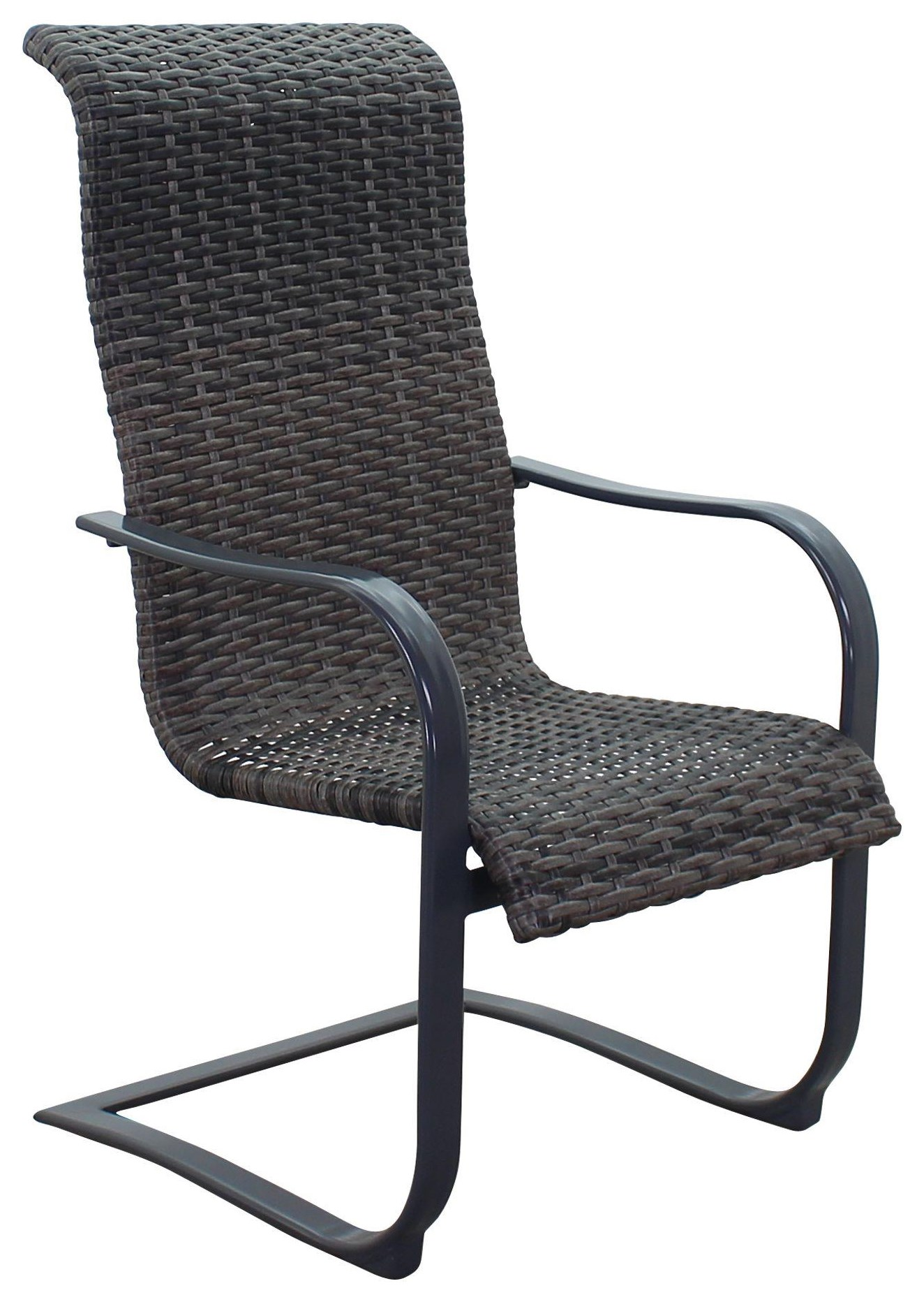 Portside Woven Spring Chair by Kingston Casual at Johnny Janosik