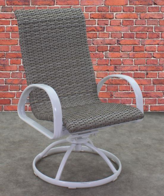 Portside Woven Swivel Chair by Kingston Casual at Johnny Janosik