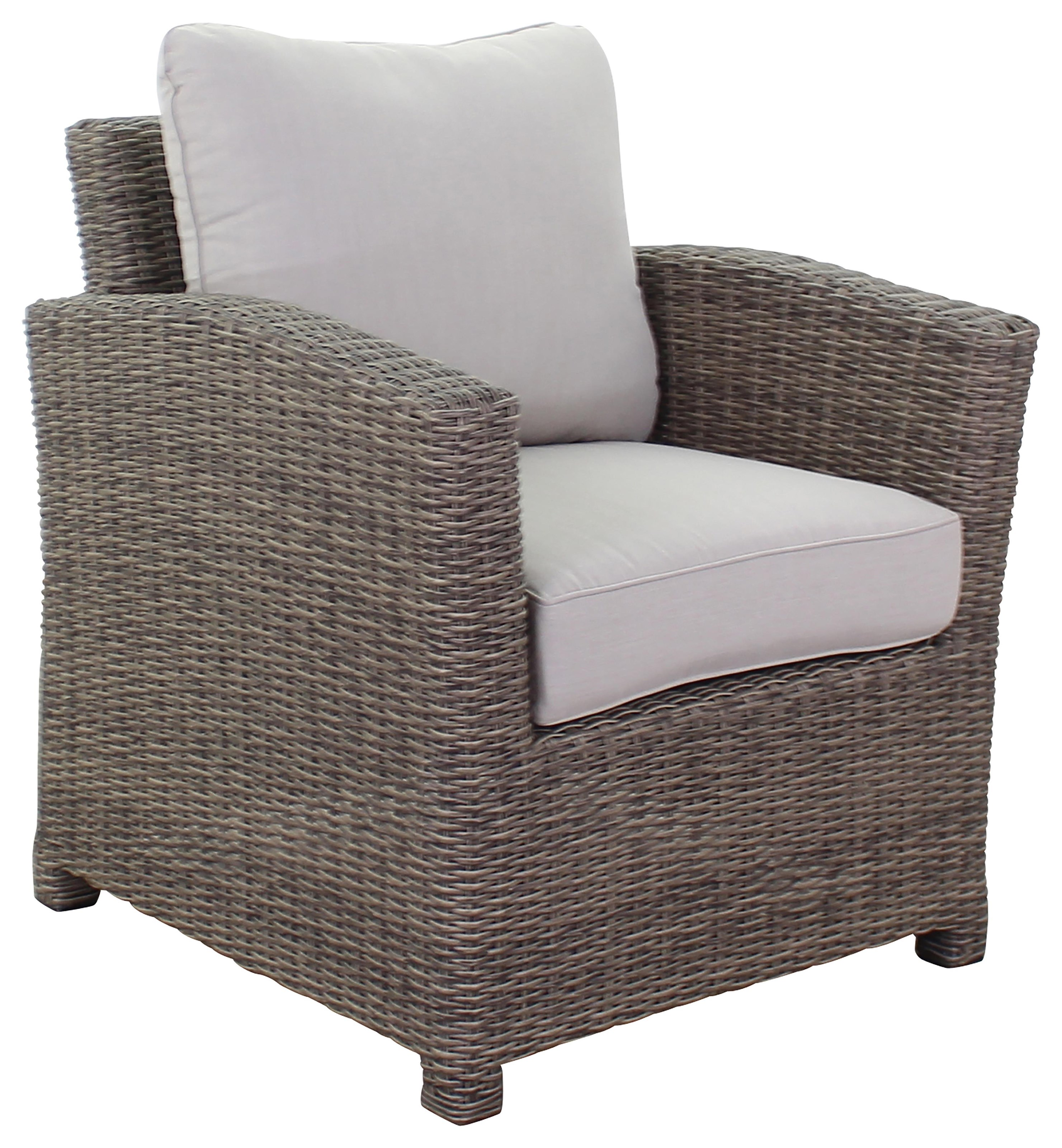 Silver Creek Club Chair by Kingston Casual at Johnny Janosik