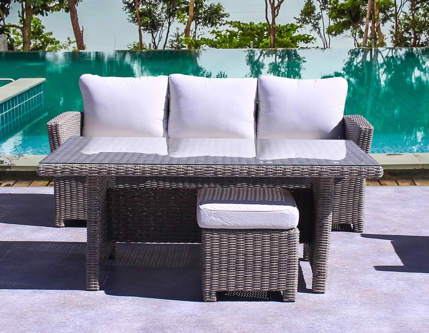 Silver Creek Outdoor Sofa by Kingston Casual at Johnny Janosik