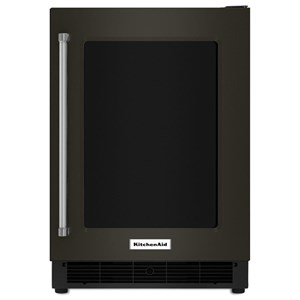 "KitchenAid Beverage Coolers - KitchenAid 24"" Undercounter Right Hand PullRefrigerator"
