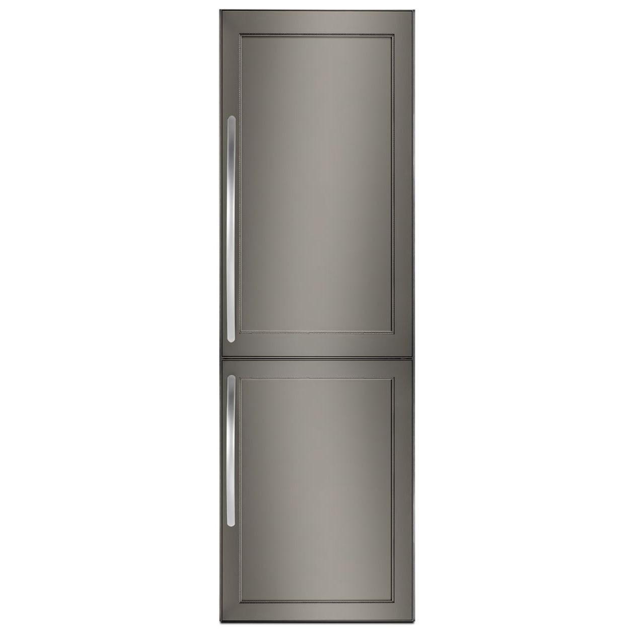"Bottom Mount Refrigerators 10 Cu.Ft 24"" Panel Ready Bottom Mount Fridge by KitchenAid at Furniture and ApplianceMart"