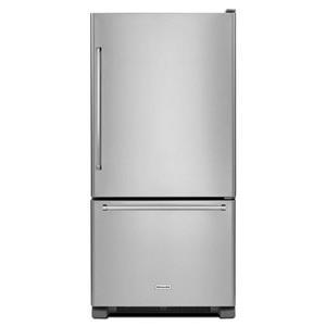 KitchenAid Bottom Mount Refrigerators 22 cu. ft. 33-Inch Bottom Mount Refrigerator
