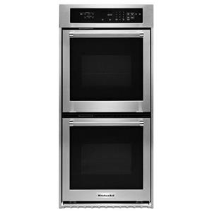 """KitchenAid Built-In Electric Double Ovens 24"""" Electric Double Wall Oven"""