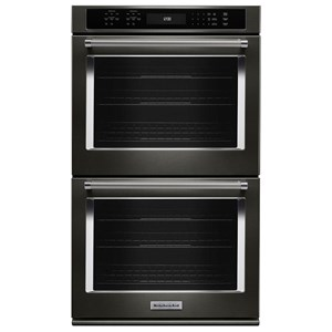 "KitchenAid Built-In Electric Double Ovens 27"" Double Wall Oven"