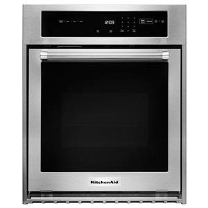 """KitchenAid Built-In Electric Single Oven 24"""" Single Electric Wall Oven"""
