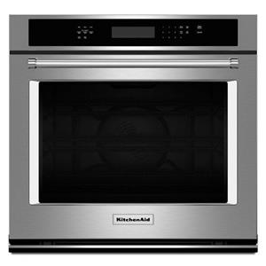 """KitchenAid Built-In Electric Single Oven 30"""" 5 cu. ft. Single Wall Oven"""