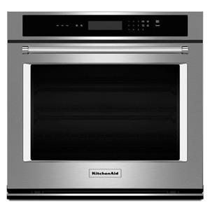 """KitchenAid Built-In Electric Single Oven 27"""" 4.3 cu. ft. Single Wall Oven"""