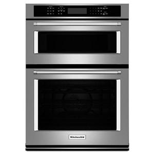 "KitchenAid Combination Oven with Microwave 27"" Combination Wall Oven"