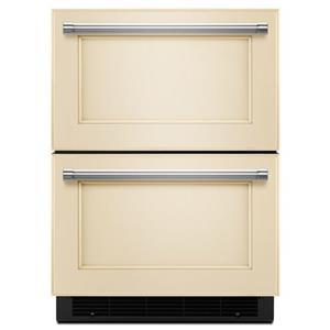 "KitchenAid Compact Refrigeration 24"" Double Refrigerator Drawer"