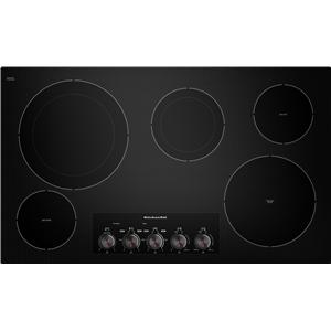 "KitchenAid Electric Cooktops 36 "" Built-In Electric Cooktop"