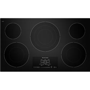 "KitchenAid Electric Cooktops 36"" Built-In Electric Cooktop"