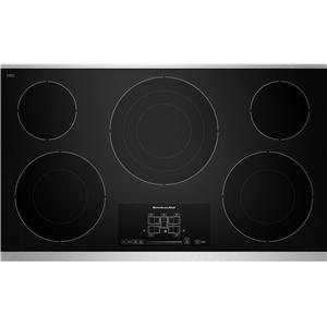 """KitchenAid Electric Cooktops - Kitchenaid 36"""" Built-In Electric Cooktop"""