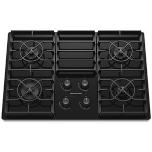 """KitchenAid Gas Cooktops 30"""" Built-In Gas Cooktop"""