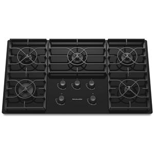 """KitchenAid Gas Cooktops 36"""" Built-In Gas Cooktop"""