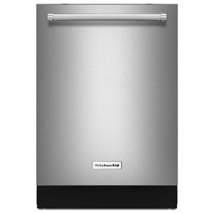 46 DBA Dishwasher with Third Level Rack, Bottle Wash and PrintShield? Finish