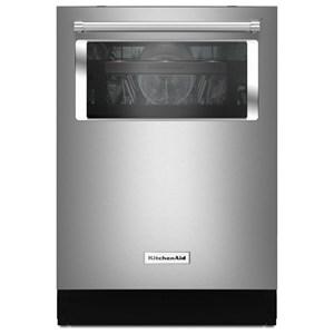KitchenAid KitchenAid Dishwashers 44 dBA Window Dishwasher