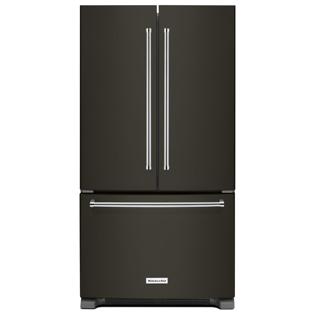 KitchenAid French Door Refrigerators 20 cu. ft. 36-Inch French Door Refrigerator by KitchenAid at Furniture and ApplianceMart