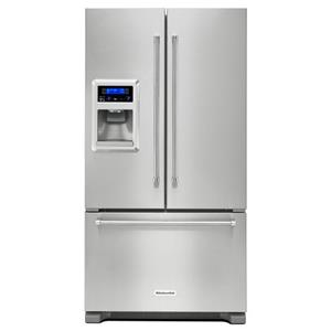 KitchenAid KitchenAid French Door Refrigerators 20 cu. Ft. 36-Inch French Door Refrigerator