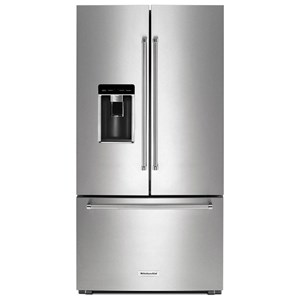 KitchenAid KitchenAid French Door Refrigerators 23.8 Cu.Ft. Counter-Depth French Door Fridge