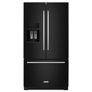 """KitchenAid KitchenAid French Door Refrigerators 26.8 cu. ft. 36"""" French Door Refrigerator"""