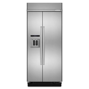 "KitchenAid KitchenAid Side-by-Side Refrigerator 20.8 Cu. Ft. 36"" Side-by-Side Refrigerator"