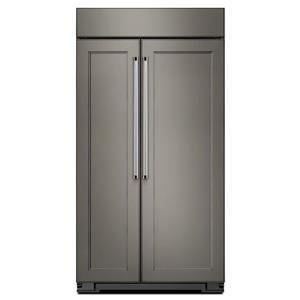"KitchenAid KitchenAid Side-by-Side Refrigerator 42"" Width Built-In SideXSide Refrigerator"