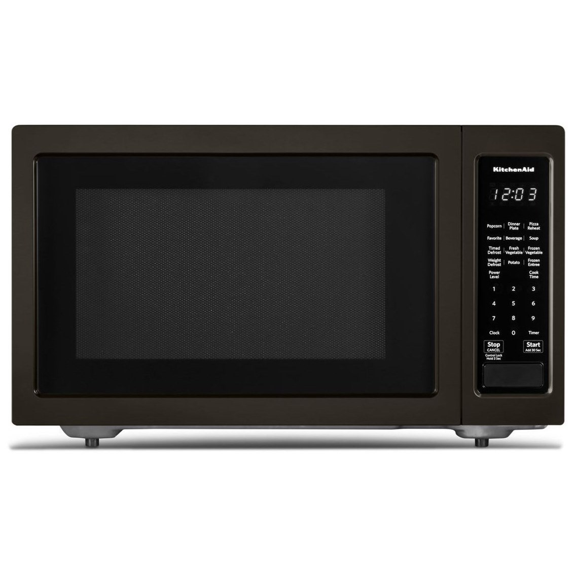 "Microwaves - Kitchenaid 21 3/4"" Countertop Microwave Oven - 1200W by KitchenAid at Furniture and ApplianceMart"