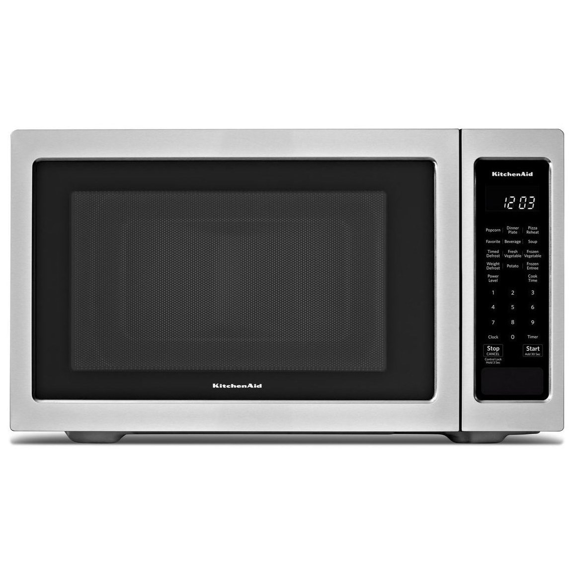 """Microwaves - Kitchenaid 21 3/4"""" Countertop Microwave Oven - 1200W by KitchenAid at Furniture and ApplianceMart"""