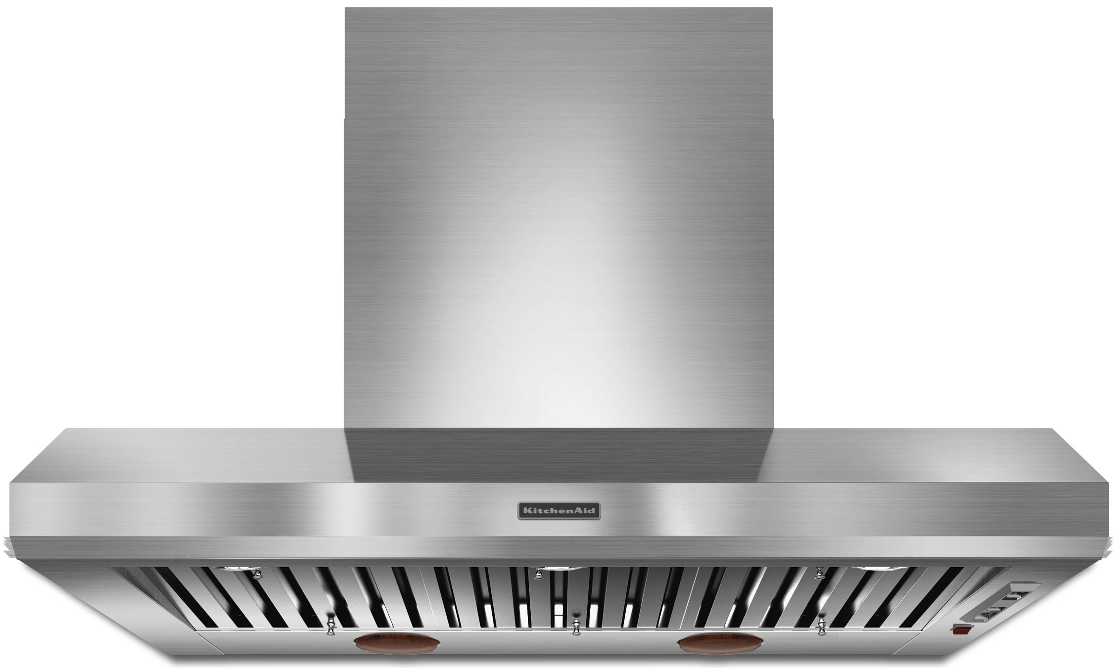 """Range Hoods 48"""" Wall-Mount Canopy Hood by KitchenAid at Furniture and ApplianceMart"""