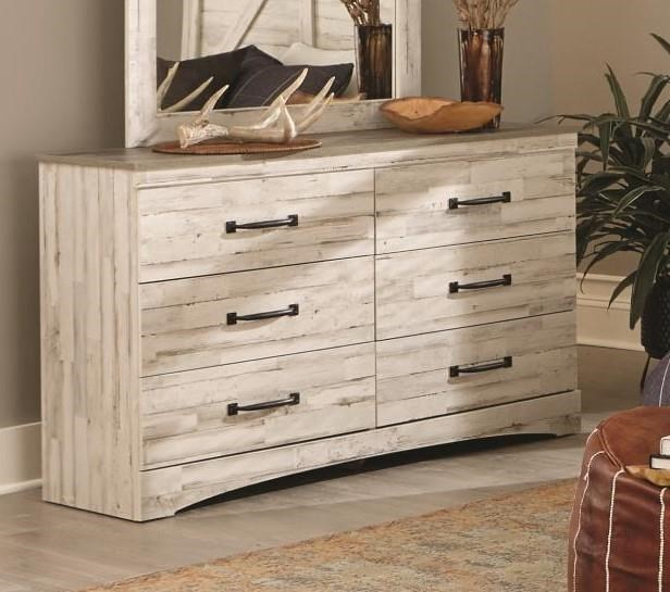 342 ASPEN White-Grey Double Dresser by Kith Furniture at Furniture Fair - North Carolina