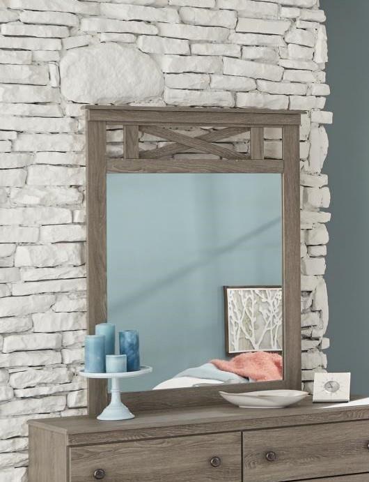 352 grey Grey Mirror by Kith Furniture at Furniture Fair - North Carolina