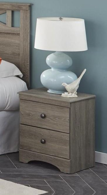 352 grey Nightstand by Kith Furniture at Furniture Fair - North Carolina