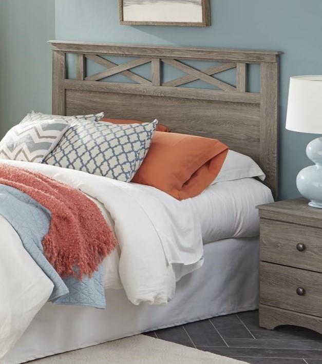 352 grey King Headboard by Kith Furniture at Furniture Fair - North Carolina