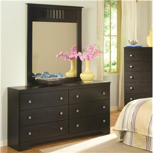Kith Furniture Allen Dresser & Mirror