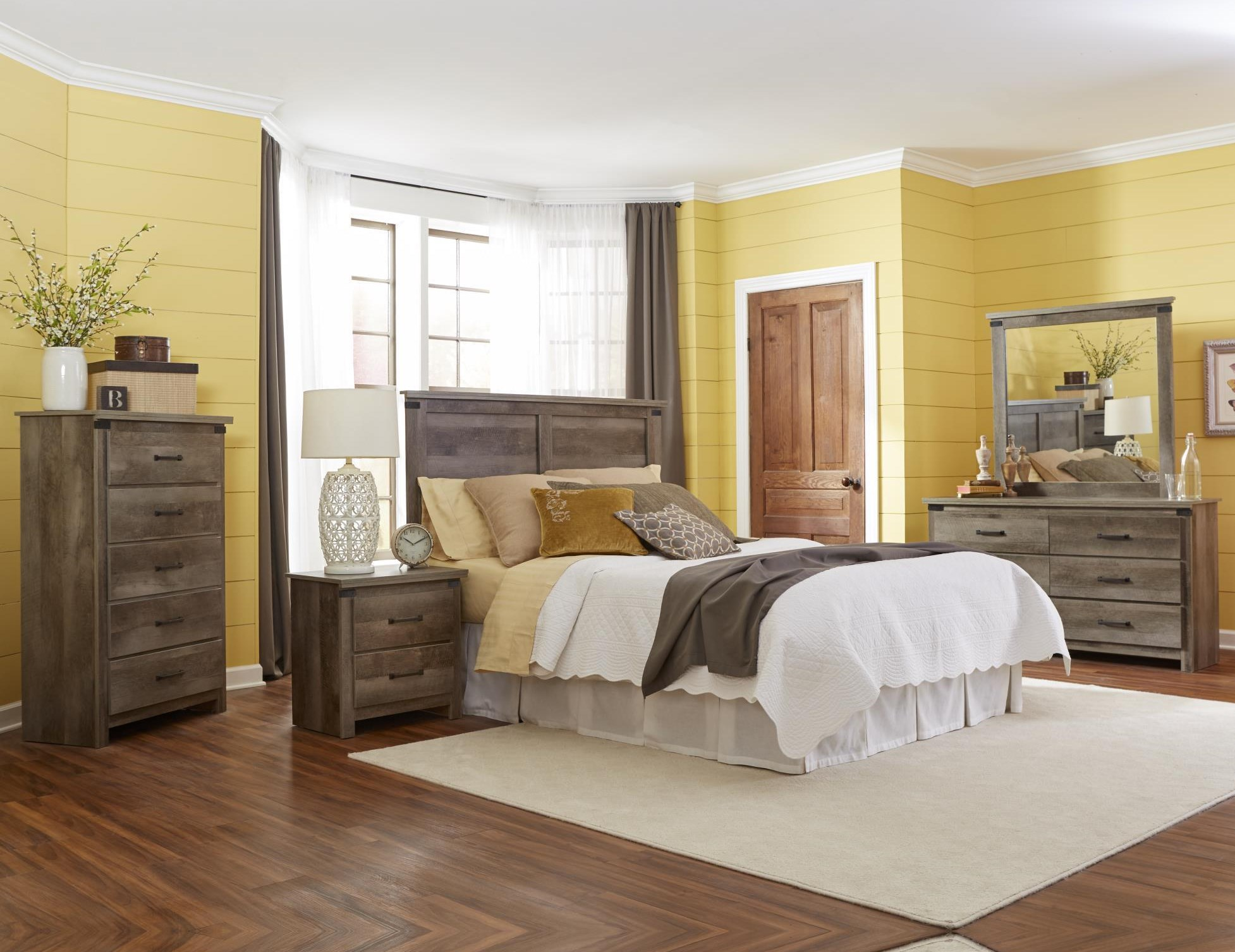 Gambrel Twin Headboard by Kith Furniture at Standard Furniture