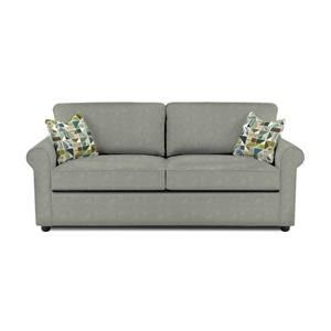 Air Dream Queen Sleeper Sofa with Rolled Arms