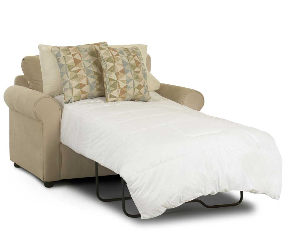 Brighton Dreamquest Chair Sleeper by Klaussner at Northeast Factory Direct