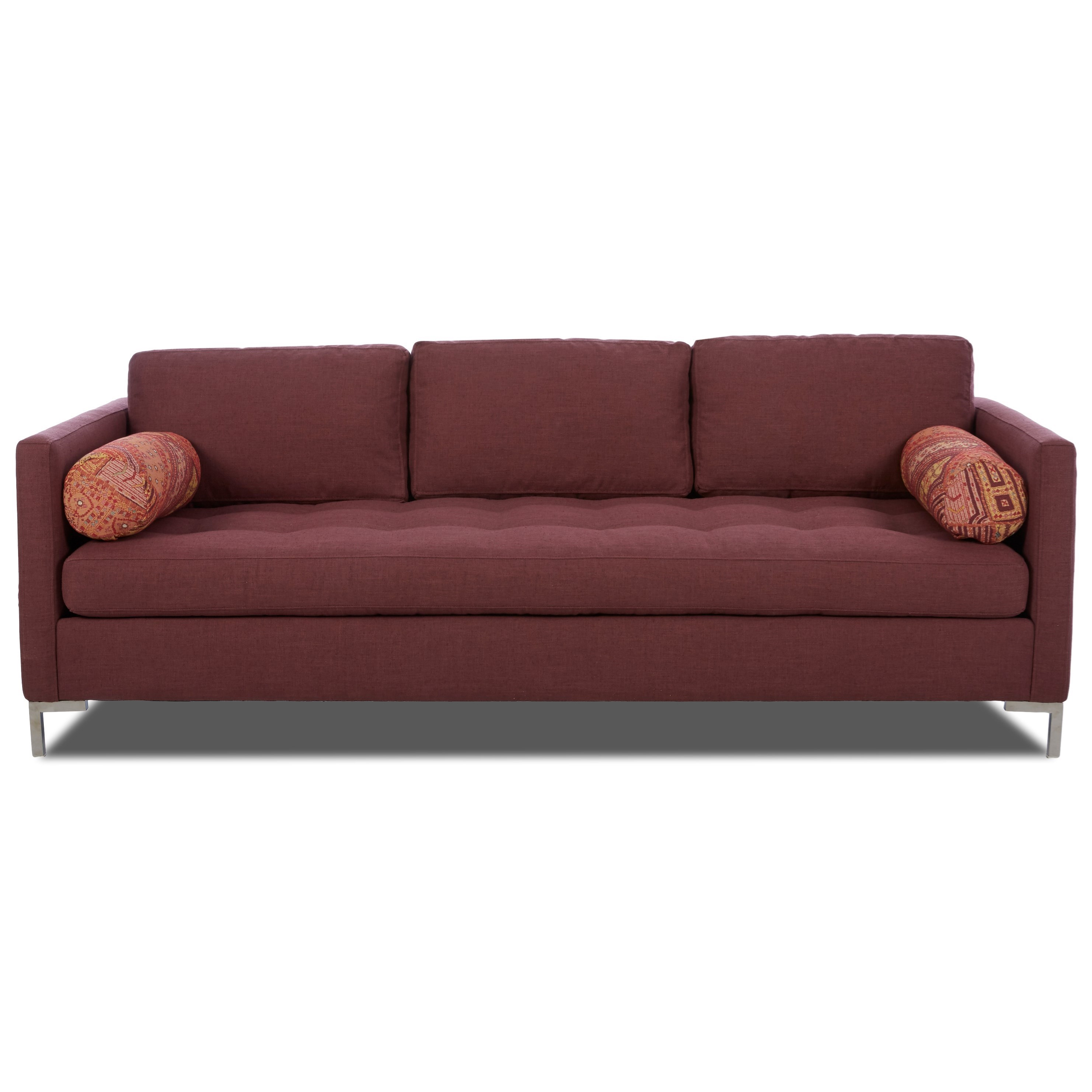 Uptown Klaussner Contemporary Sofa by Klaussner at Lapeer Furniture & Mattress Center