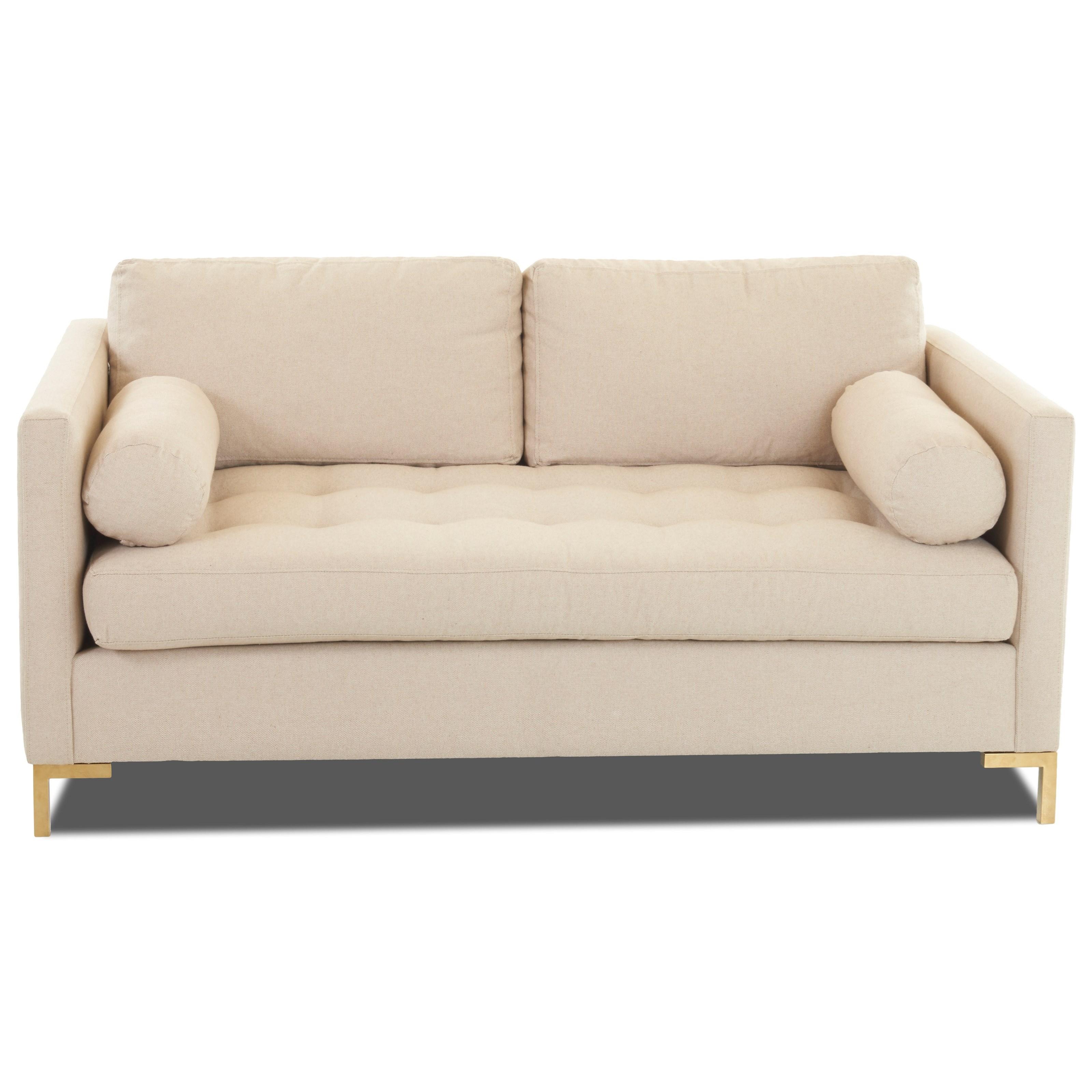 Uptown Klaussner Love Seat by Klaussner at Lapeer Furniture & Mattress Center