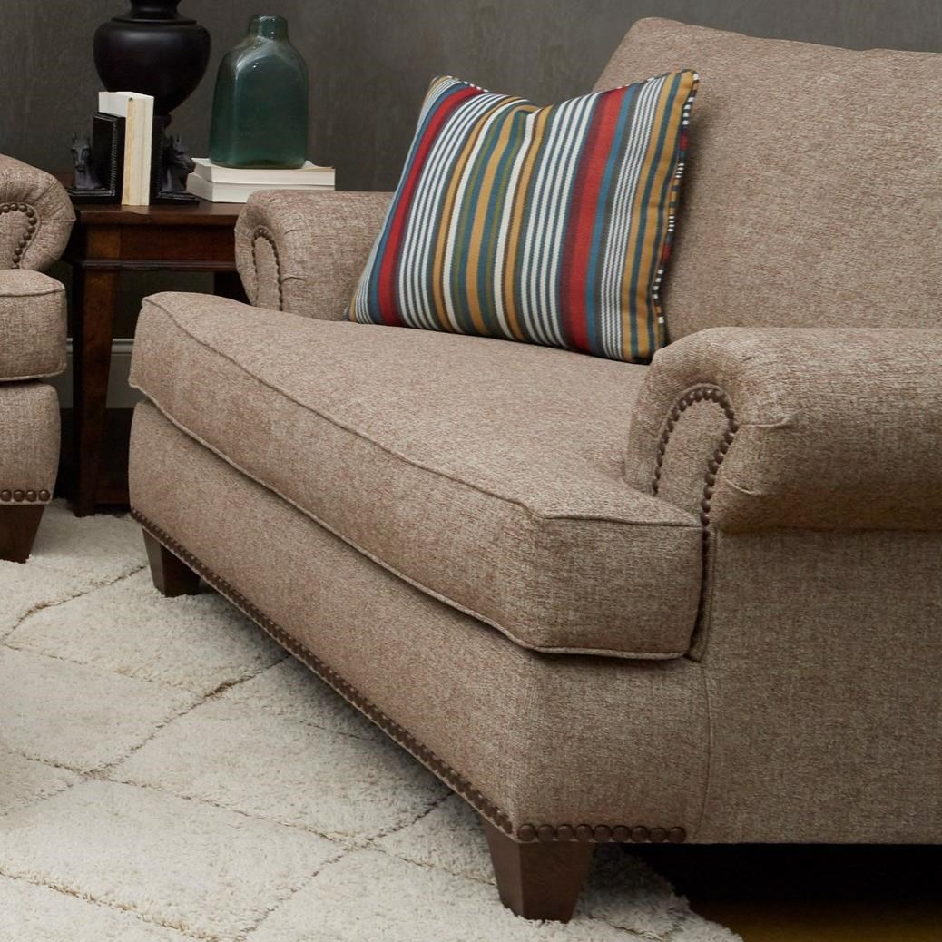 Alexa Big Chair by Klaussner at Catalog Outlet