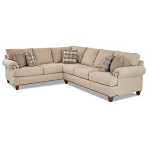 Two Piece Sectional Sofa with RAF Sofa