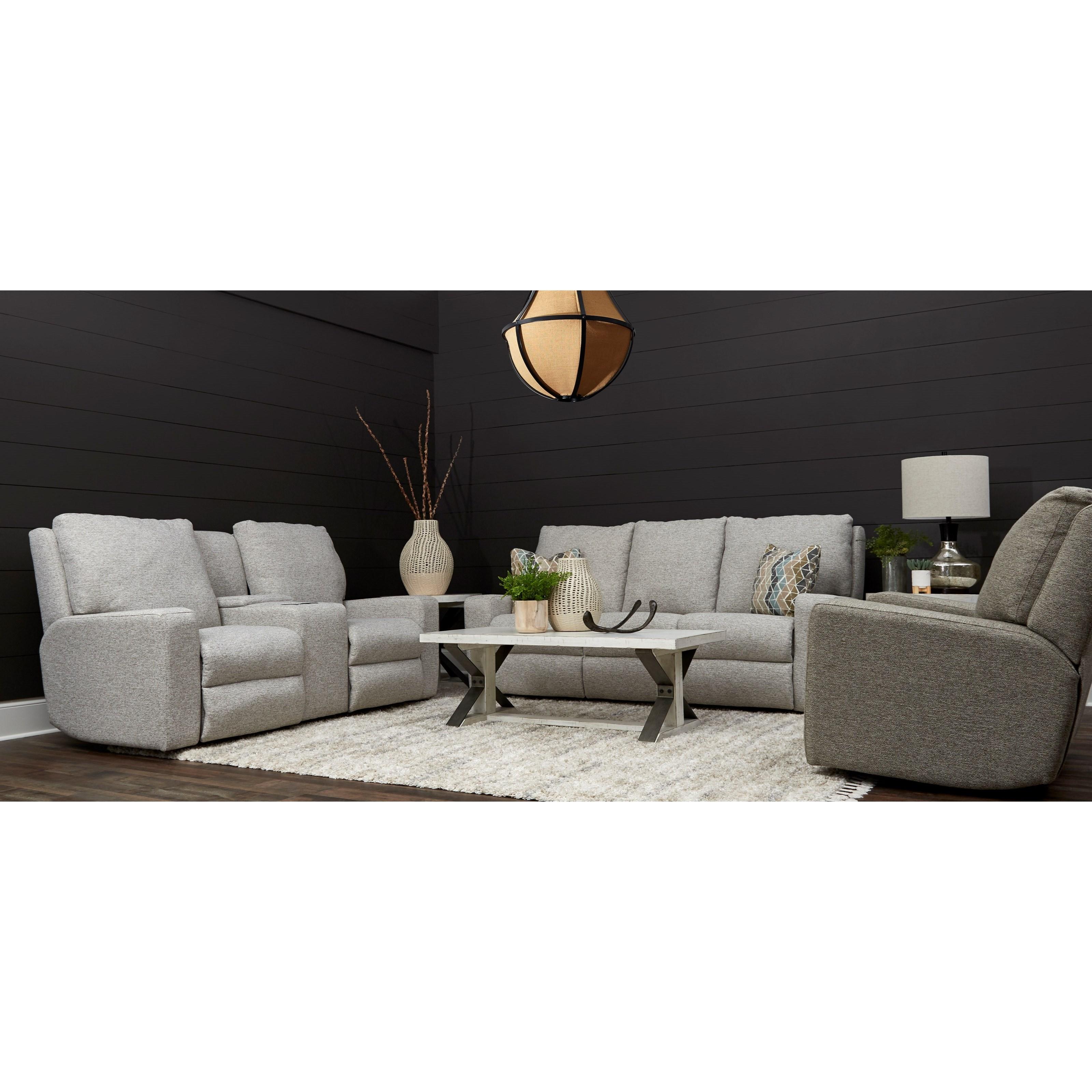 Alliser Power Reclining Living Room Group by Klaussner at Lapeer Furniture & Mattress Center