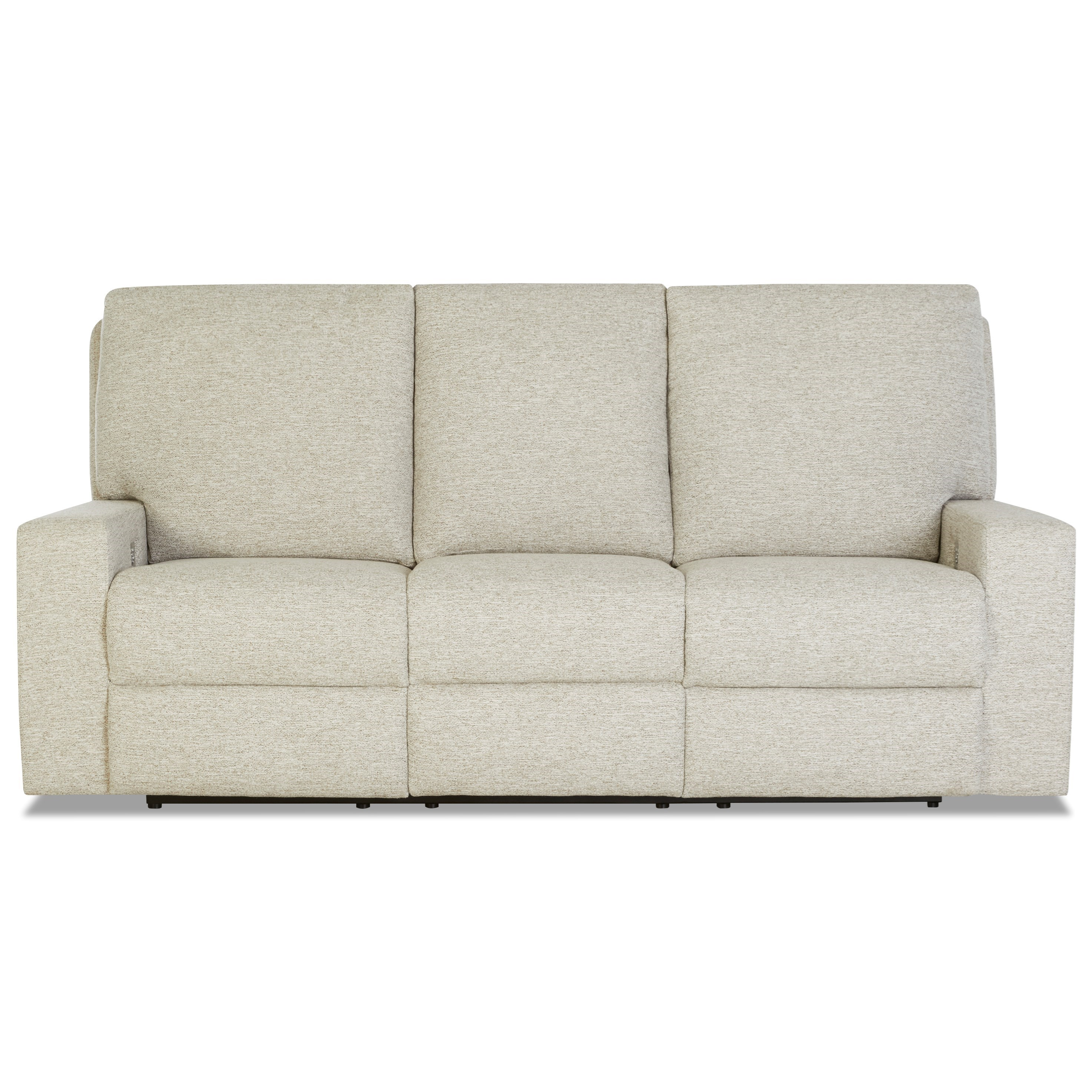 Alliser Power Reclining Sofa w/ Pwr Headrests & XMS by Klaussner at Lapeer Furniture & Mattress Center