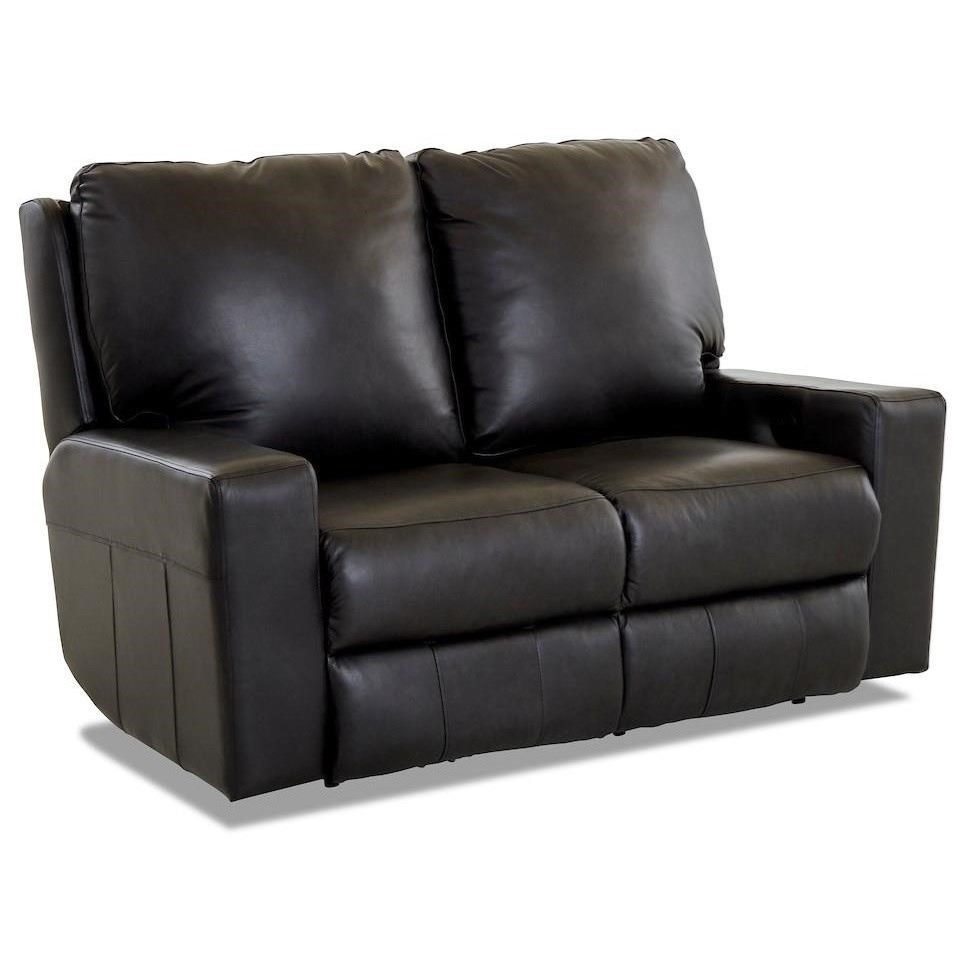 Alliser Power Reclining Loveseat by Klaussner at Catalog Outlet