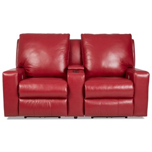 Pwr Recl Sectional w/ Pwr Headrests & Lumbar