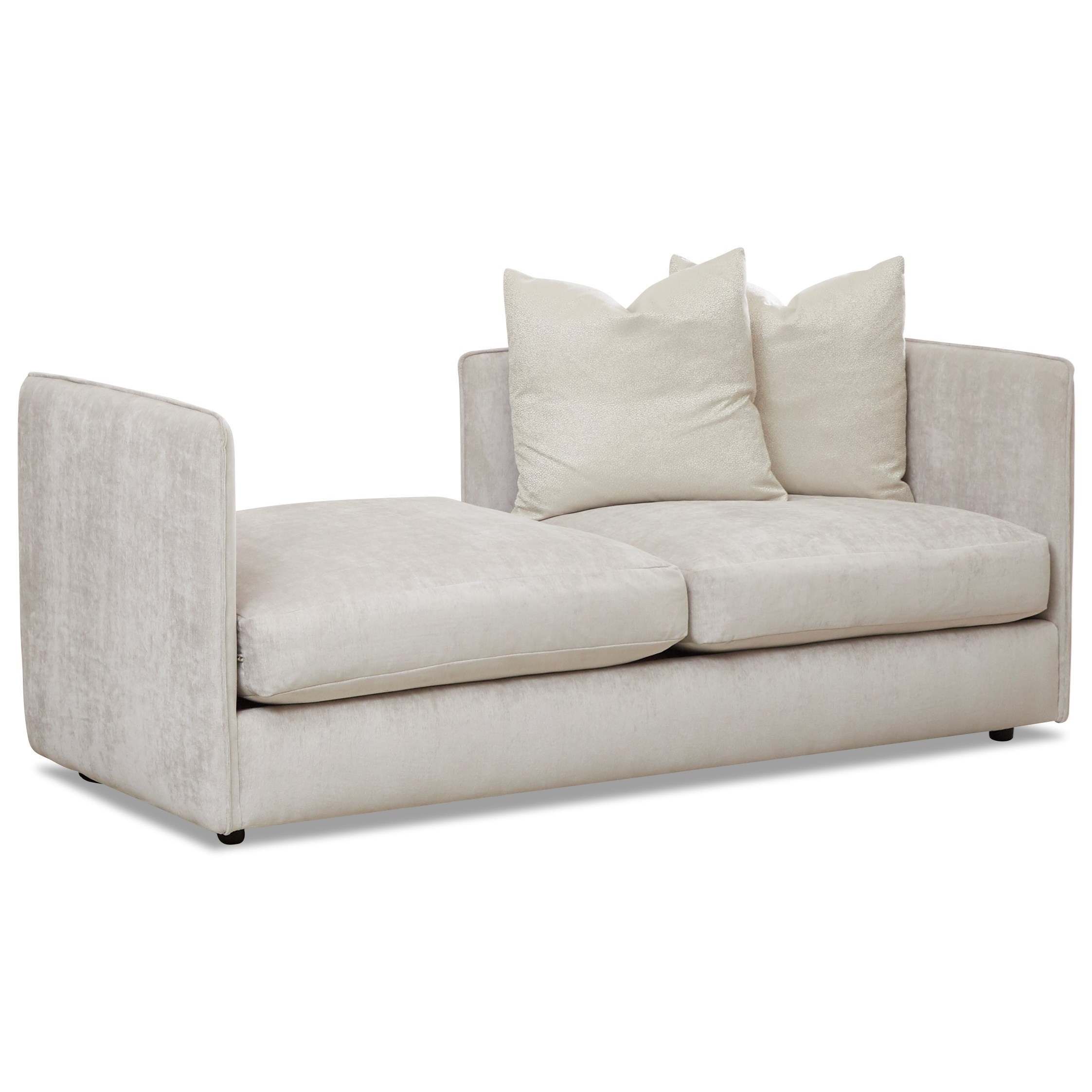 Ansel Chaise Lounge by Klaussner at Johnny Janosik