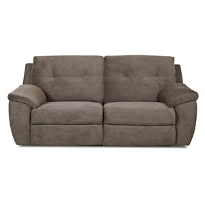 Klaussner Arco Transitional Power Reclining 2 Over 2 Sofa